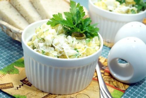Простой и быстрый салат «Моментальный»  - рецепт