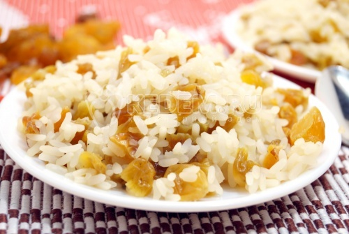 Рис с изюмом - рецепт