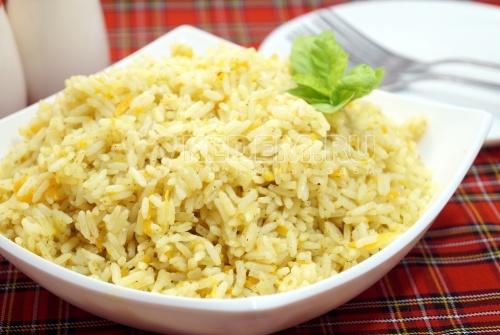 Рис в мультиварке с овощами - рецепт