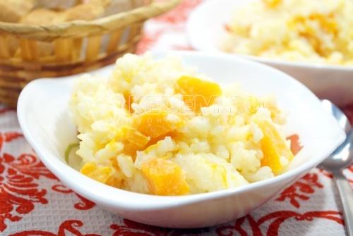 Рисовая каша с тыквой - рецепт