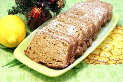 Рождественский лимонный кекс - рецепт
