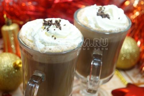 Рождественское какао со сливками - рецепт