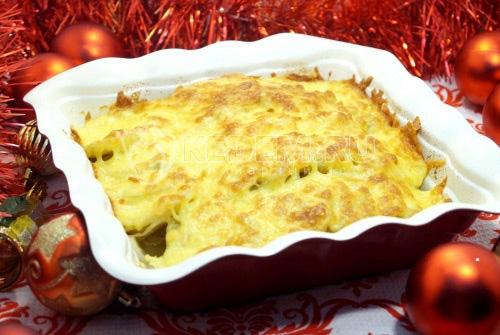 Рождественское мясо по-французски
