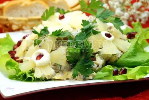Салат Цветочки