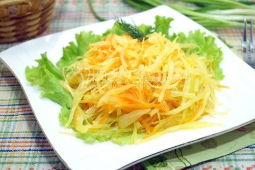 Салат из капусты Анталия