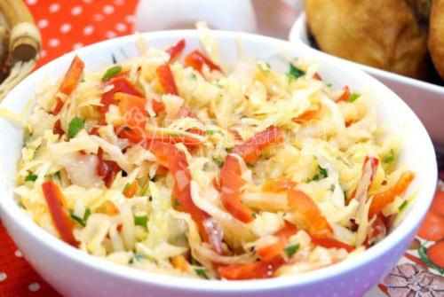 Салат из капусты «Витэлия» - рецепт