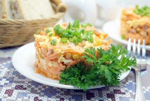 Салат из моркови Кайри