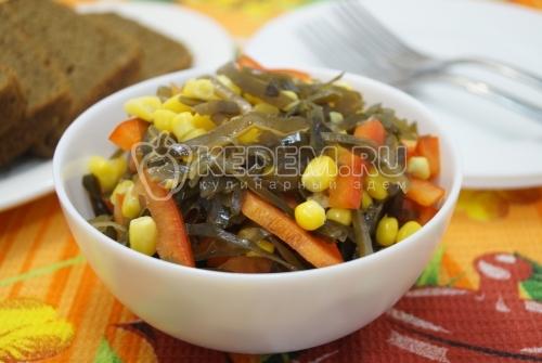 Салат из морской капусты Сахалин