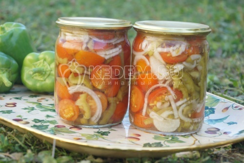 Салат из помидор на зиму - рецепт