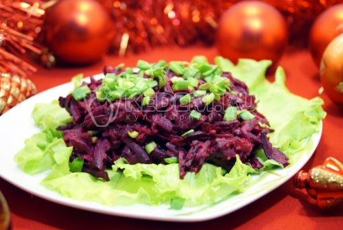 Салат из свёклы - рецепт