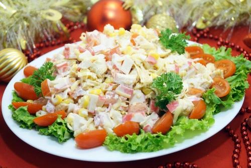 Салат «Красный нос» - рецепт