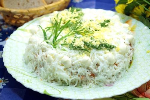 Салат «Мимоза» - рецепт