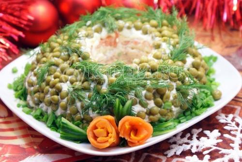 Салат Новогоднее чудо