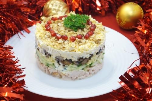 Салат «Новогоднее танго» - рецепт