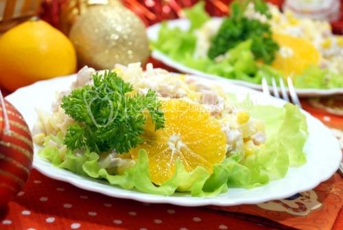 Салат Новогодний блюз
