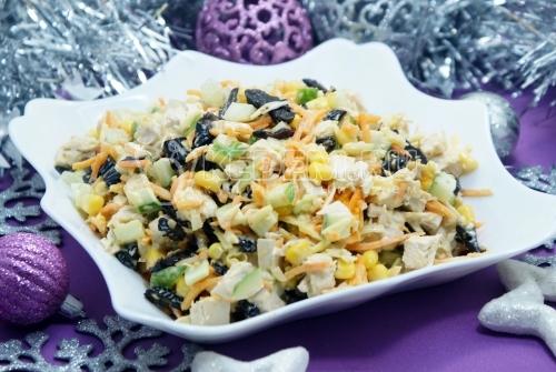 Салат Новогодний фурор