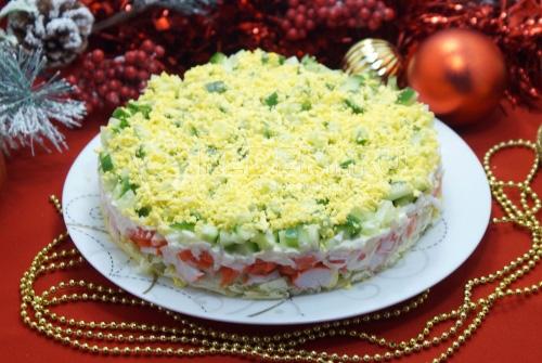 Салат Новогодний праздник
