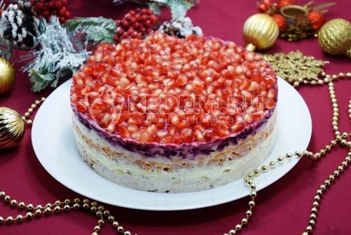 Салат Новогодняя Москва