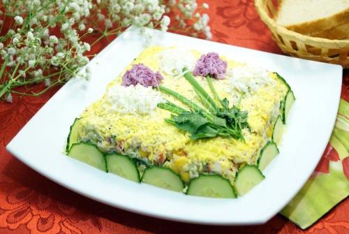 Салат «Первоцвет» - рецепт
