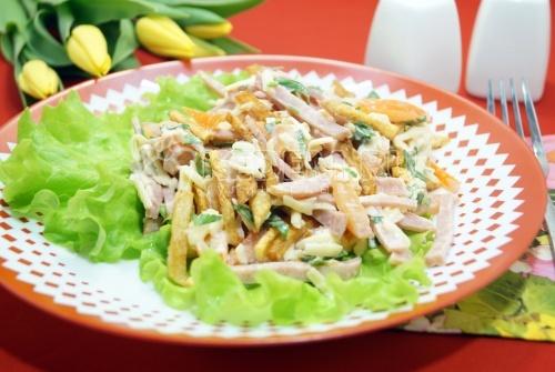 Салат «Полина» - рецепт