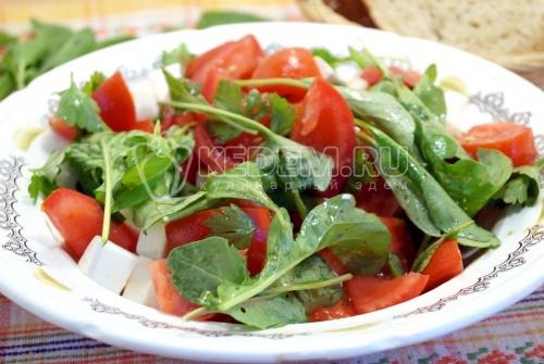 Салат с рукколой Аннет
