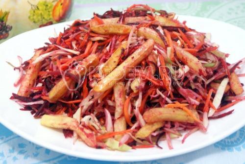 Салат «Сыроват» - рецепт