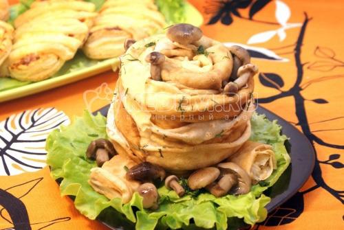 Салат «Трухлявый пень» - рецепт