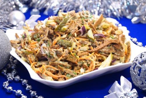 Салат «Зимушка» - рецепт