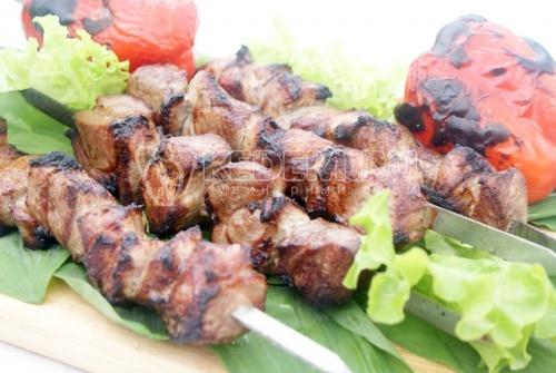 Шашлык из свинины с уксусом