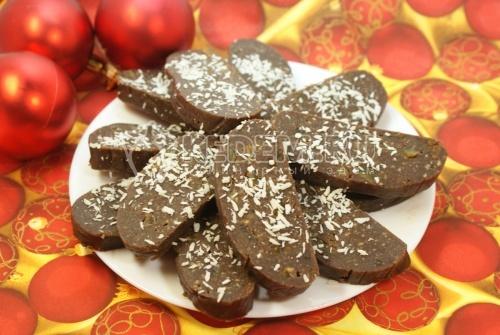 Шоколадные пирожные К чаю