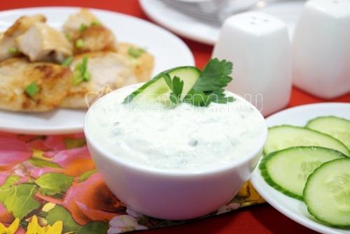 Сметанный соус «Весенний»