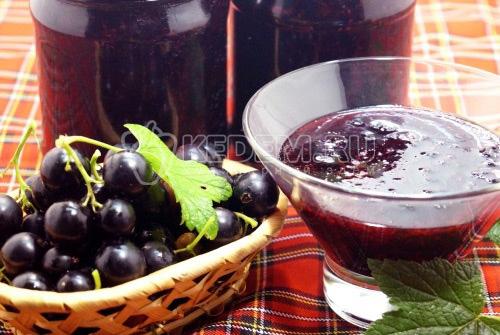 Смородиновое варенье - рецепт