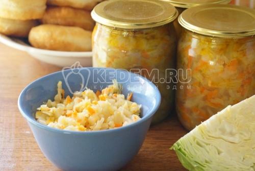 Солянка на зиму из капусты - рецепт
