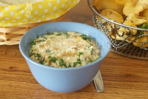 Соус из лисичек - рецепт