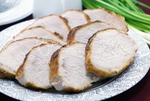 Свинина запеченная в фольге в духовке