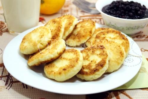 Сырники из творога - рецепт