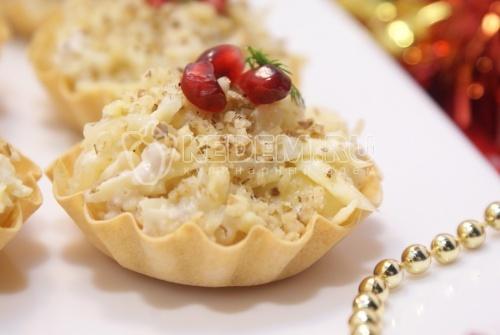Тарталетки на праздничный стол - рецепт