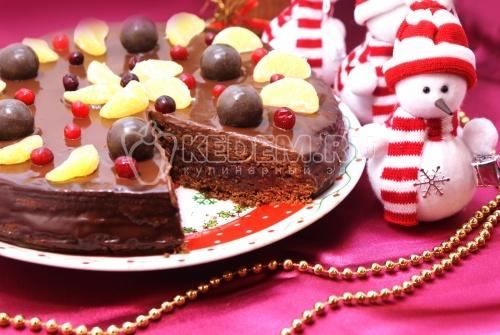 Торт Шоколадный праздник