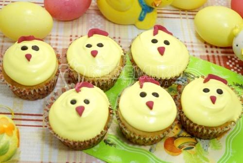 Творожные кексы Цыплятки