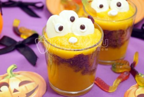 Тыквенный десерт Монстряшки