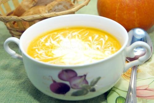 Тыквенный суп-пюре за 10 минут  - рецепт