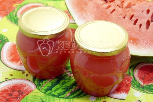 Варенье из арбуза - рецепт