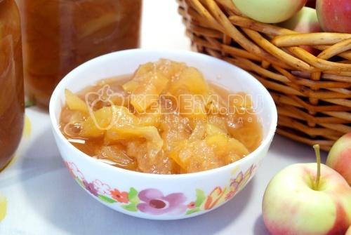 Варенье из яблок дольками  - рецепт