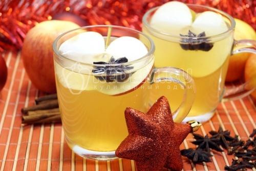 Яблочный глинтвейн - рецепт