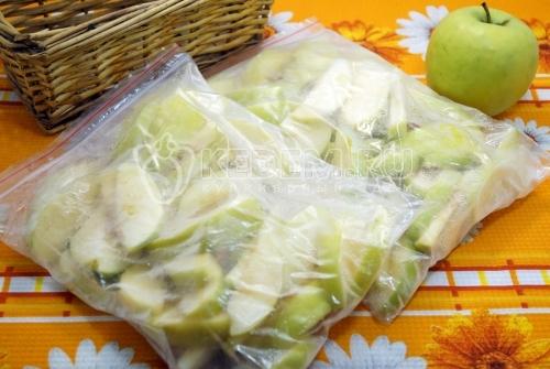 Яблоки на зиму для пирогов