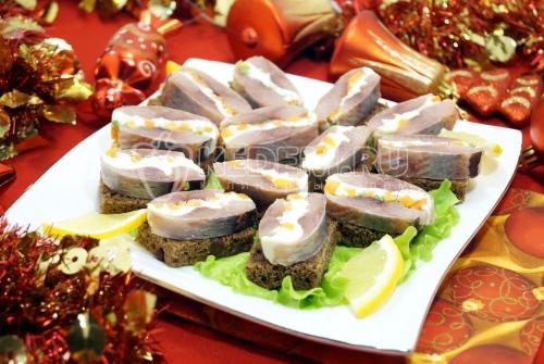 Закуска «Новогодняя селедочка»