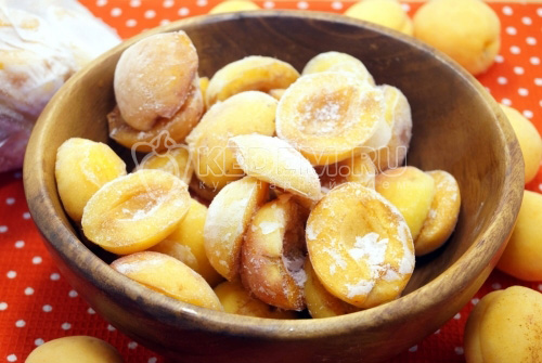 Заморозка абрикосов на зиму