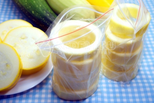 Заморозка кабачков на зиму «Колечки»