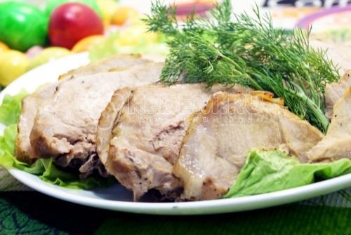 Запеченное мясо в фольге