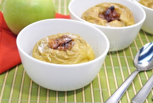 Запеченные яблоки с мёдом - рецепт